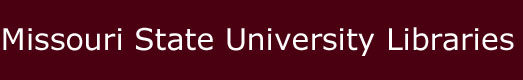 Missouri State University Libraries home page